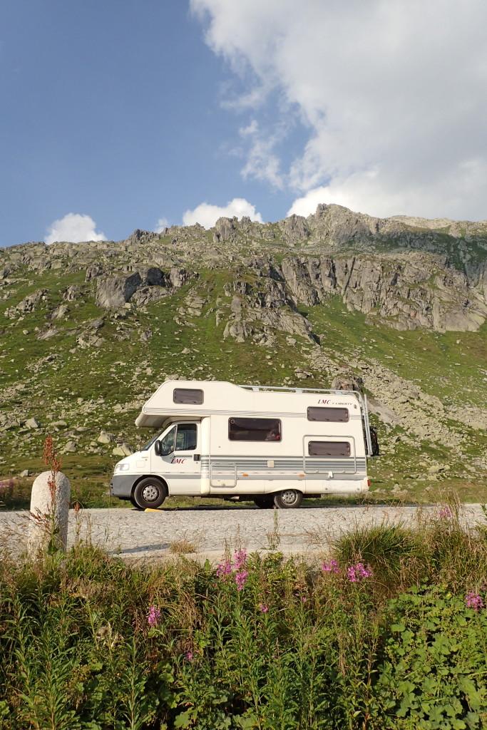 Auf dem Gotthardpass